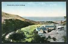 Pease Mill Near Dunbar view bay and hills old vintage postcard