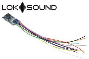 ESU 58813 Locomotive Sound 5 Micro DCC / MM / SX/M4Einzellitzen,Lsp 0 7/16x0