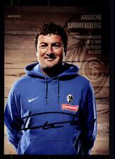 Andreas Bauer Autogrammkarte SC Freiburg 2012-13 Original Signiert +A 109373