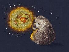 Counted Cross Stitch Kit KLART 8-313 - Hedgehog's Night Light