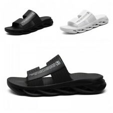 New Men Outdoor Slip On Walking Leisure Beach Fashion Open Toe Slippers Summer D