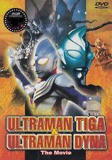 DVD The Movie Ultraman Tiga & Dyna  - English Dub