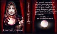 Universal Lenormand neu new Tarot Orakelkarten Oracle Cards Kartendeck