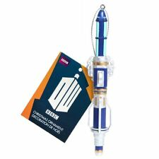 New Doctor Who 12th Dr Sonic Screwdriver Xmas Ornament Christmas Bauble Official