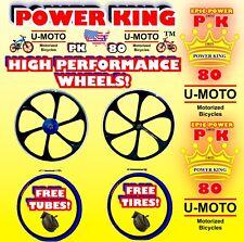 48c/66cc/80cc 2-Stroke Motorized Bike Wheels 26� For Motorized Bikes And Kits