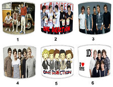 One Direction Pantallas de Lámpara,Ideal Para Combinar Pósters & Adhesivos Pared