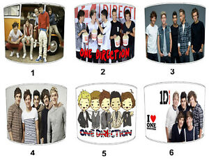 One Direction Lampshades, Ideal Para Combinar Pósters & Adhesivos de Pared