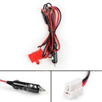 1x 12V DC Power Cord Cable Cigarette For Kenwood ICOM TM481 TM281 TM-241/261 UE