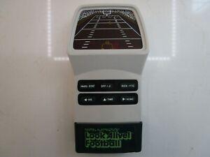 Vintage Mattel LOOK ALIVE FOOTBALL Electronic Handheld Tabletop Video Game RARE