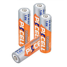 PKCELL 4pcs AA NiZN 1.6V 2500mWh Ni-Zn 2A Rechargeable Batteries For RC Cell Toy