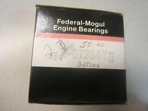 Federal Mogul 67264Y STD (2) Bearings Nissan SD20 SD22 SD23 SD25 81-82