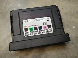 2013 2014 Chevrolet Sonic Body Control Module Unit BCM OEM 13589097 Fast Ship!