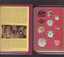 1990 Australia Proof Coin Set in Folder with outer Box & Certificate