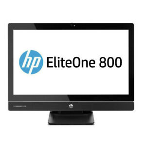 "HP EliteOne 800 G1 23"" Touchscreen Desktop i7-4790s 4GB Ram 180GB SSD + WTY"