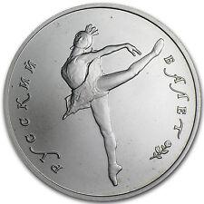 1991 Russia 1/2 oz Palladium Ballerina BU - SKU #60899