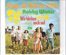 ROBBY WINTER - Junge, die Welt ist schön
