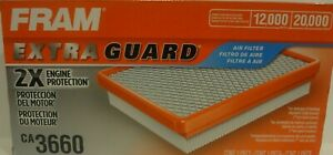 Fram Extra guard Engine Air Filter CA3660 2X Engine protection FREE SHIPPING