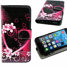 """Wallet Slots Card Leather Cover Stand Skin Case Protect For Apple iPhone 6 4.7"""""""