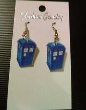 NEW DR WHO TARDIS EARRINGS