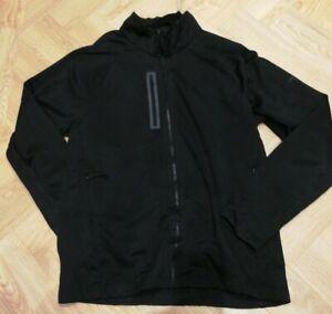 Mens the north face soft shell jacket Large Apex visor zipped pockets  black L