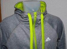 adidas S16367 Prime HD Jacket Sport Hoodie Sweats Kapuzen Pulli Jacke Neon XS