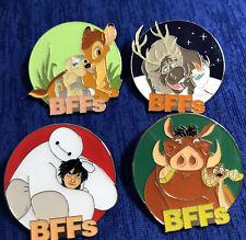 New ListingDisney Mystery Collection Bff'S Bambi Sven Big Hero Pumba Set Of 4 Pins