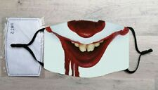 Pennywise the Clown face mask (IT, Halloween, Horror)