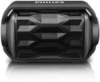 Philips Shoqbox Rugged Mini Compact Wireless Outdo Portable Bluetooth Speaker
