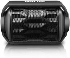 Philips Shoqbox Rugged Mini Compact Wireless Outdo Portable Bluetooth Speaker