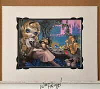 2017 Jasmine Becket Griffith Princess AURORA Sleeping Beauty WonderGround Print