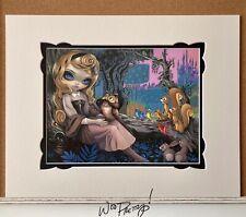 2017 Jasmine Becket Griffith Princess AURORA Sleeping Beauty WonderGround Print