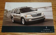 Original 2005 Lincoln Navigator Sales Brochure Folder 05