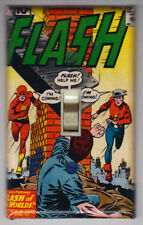 Flash 123 Light Switch Cover Plate - Jay Garrick Justice League Decor