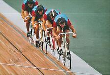 Ian Hallam Hand Signed Olympics 12x8 Photo.