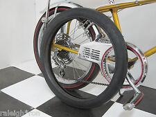 "RRC Black Wall 20 x 2.125"" Banana Seat Muscle Bike Slick Bicycle TIRE"