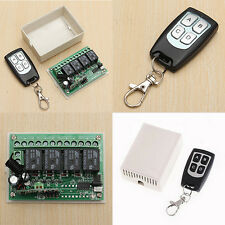 12V 200MHz RF télécommande interrupteur Garage porte émetteur récepteur +boîte
