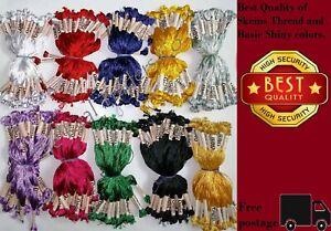 Set Of 6 X Silk Skeins Embroidery Thread Cross Stitch Needlepoint Craft | UK