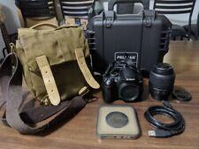 Nikon D D3000 10.2Mp Digital Dslr Camera - Black with accessories!