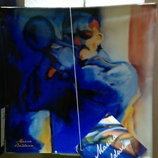 """NEW In Box Marcia Baldwin """"JAZZ HORN"""" 5 3/4"""" Square Glass Collector Plate #21084"""