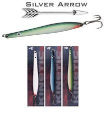Hornfisch , Meerforelle u. Lachs - Blinker Silver Arrow 3 Farben Set 2