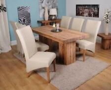 Handmade Up to 6 Seats 7 Pieces Table & Chair Sets