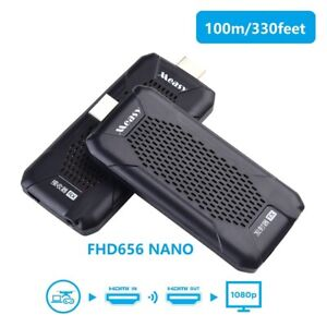 Measy FHD656 NANO Wireless HDMI dongle support 1080p 100m hdmi extender