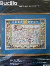 "Cross stitch Kit "" New World Discovery "" New by Bucilla"