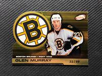 2002-03 PACIFIC ATOMIC GLEN MURRAY GOLD DIE-CUT #ed 22/99