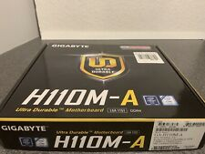 Gigabyte H110M-A DDR4 LGA1151 Motherboard