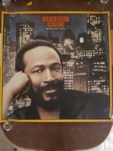Marvin Gaye Midnight Love Album Large Promo Poster 1982 Sexual Healing 36x36 CBS