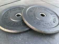 Olympic Weight Set - 10lb Pair - Rogue Bumper Plates - 20lbs Total - MADE IN USA