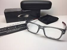 NIB Oakley Splinter Grey Shadow/Cardinal Frames Rx Eyeglasses OX8077-0352