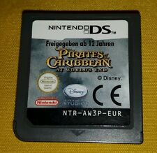 I PIRATI DEI CARAIBI AT THE WORLD'S END - Nintendo DS - NDS - 3DS 3 2 DS XL Lite