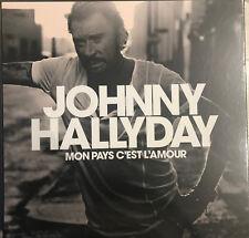 Mon Pays C'est L'amour par Johnny Hallyday (LP Vinyle, CD, Coffret Collector, 2018)